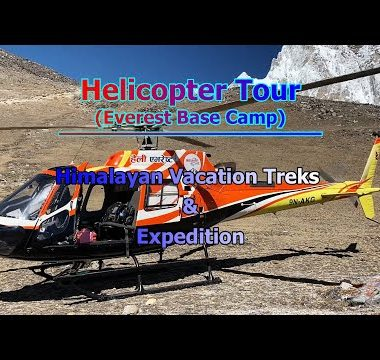 Helicopter Tour - Kala Patthar